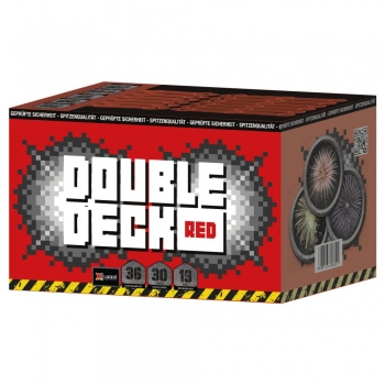 Xplode Double Deck Red, 36-Schuss XXL Fächer-Batterie